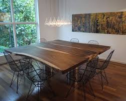 dining room tables chairs square: metal dining chairs are ideal if your wish is to impart an industrial look to the room having a square dining table
