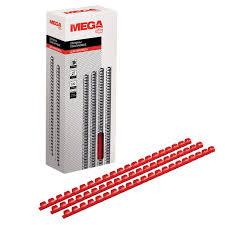 <b>Пружины для переплета</b> пластиковые Promega <b>office</b> 10мм крас ...