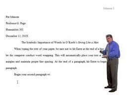 mla style essay format word tutorial   youtube mla style essay format word tutorial