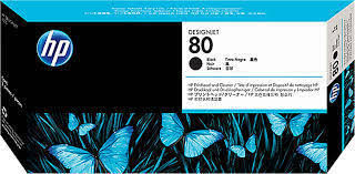 <b>HP 80 Black Plotter</b> Ink Cartridge, Packaging Type: Box, Rs 6100 ...