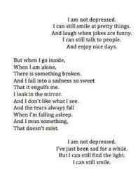 depression hopeless empty careless sad quotes depression quotes ... via Relatably.com