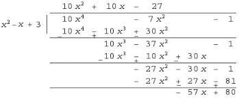 Dividing Polynomials | Polynomial Long Division | Math@TutorVista.comDividing Polynomials by Polynomials