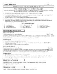 inventory management control specialist resume   sales   inventory    sample resume  sle resume for inventory control specialist