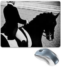 Коврик для мышки Всадница верхом на лошади #100031 от ...