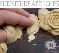 gluing on resin furniture applique1 appliques for furniture