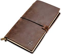 Amazon.com : <b>Leather Notebook</b> - Refillable Travel <b>Journal</b> - Hand ...