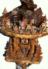 monroe and ro e are my favorite characters on the show so black forest master carvers woodland knomes cuckoo clock on offer