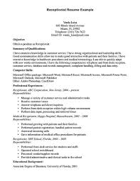 resume sample medical assistant job description duties volumetrics front desk receptionist resume sample front desk receptionist receptionist job duties responsibilities receptionist job role description