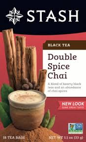 Stash Double Spice Chai Black Tea Bags, 18 ct - King Soopers