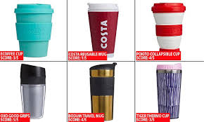 Which reusable coffee cup should you buy?   Daily Mail Online