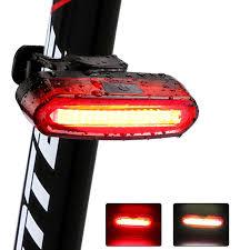 2020 New 120Lumens Bicycle Light Cycling <b>LED Taillight</b> USB ...