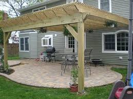 Pergola Plans Attached To House   Smalltowndjs comHigh Quality Pergola Plans Attached To House   House Attached Pergola Designs