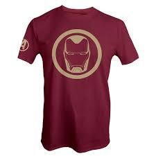 Marvel - Avengers: Endgame - <b>Iron</b>-<b>Man</b> Red <b>T</b>-<b>Shirt</b> - EB Games ...