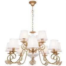 <b>Люстра</b> Silver Light <b>Benedict 736.53.12</b> купить в Москве