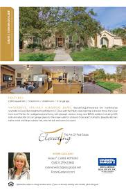 sally galli coldwell banker listing flyers b elevating flyer
