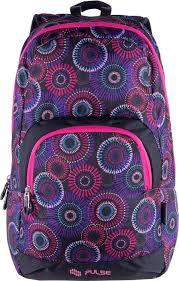 <b>Рюкзак Pulse Solo</b> Фиолетовые цветы, цена 1 740 руб. купить в ...