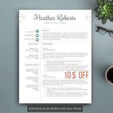 creative resume template for word pages complete 1 2 3 pages professional resume template for word pages complete 1 2 3 pages resume