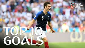 TOP 10 GOALS - <b>2018</b> FIFA <b>WORLD CUP</b> RUSSIA (EXCLUSIVE ...
