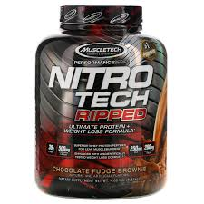 <b>Nitro Tech</b>, <b>Ripped</b>, <b>Ultimate</b> Protein + Weight Loss Formula, Whey ...