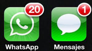 Resultado de imagen de whatsapp vs sms