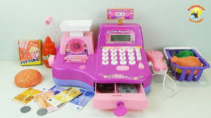 Кассовый аппарат - <b>детский</b> игровой <b>набор</b> для девочек / Cash ...