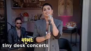 Demi Lovato: <b>Tiny</b> Desk (Home) Concert - YouTube
