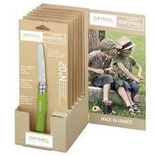 Купить Набор My First <b>Opinel №7</b> Apple <b>green</b> hornbeam handles в ...