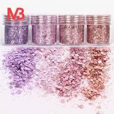 <b>4Pots</b> Sequins Glitter Dust Powder Paillette Tips <b>Nail Art</b> Decor ₱77