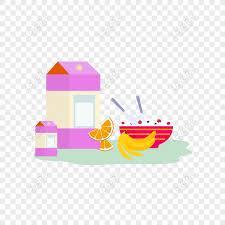 Free Food <b>Decoration Cartoon Cute</b> Elements PNG & AI image ...