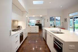 Contemporary Galley Kitchen Graceville Modern Kitchen By Makings Of Fine Kitchens