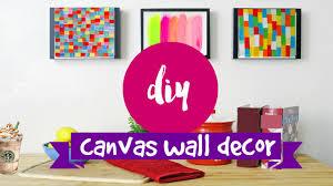 tree wall decor art youtube: diy wall art  supereasy amp simple canvas ideas youtube