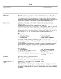 resume templates basic examples for students curriculum 85 awesome resume outline example templates