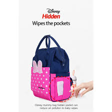 <b>Disney USB Heating Diaper</b> Bag Maternity Nappy Bag baby diaper ...