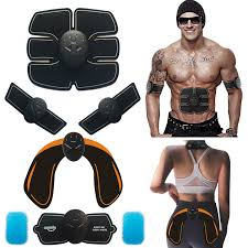 <b>Abdominal Muscle Trainer</b> Massage <b>Stimulator</b> EMS Wireless ...