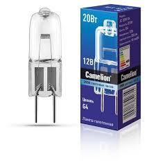 <b>Лампа</b> галогенная <b>Camelion</b> 1955, <b>G4</b>, JC, 20Вт — купить по ...