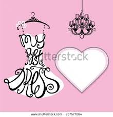 typography dress designsilhouette of woman classic little dress from words my best dress background pink chandelier