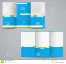 tri fold template info tri fold template brochure for business advertising stock vector
