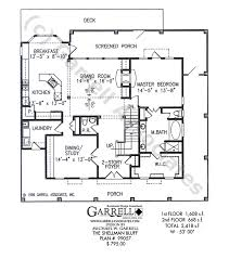 Shellman Bluff House Plan   House Plans by Garrell Associates  Inc Shellman Bluff   Coastal House Plans  Tidewater House Plans