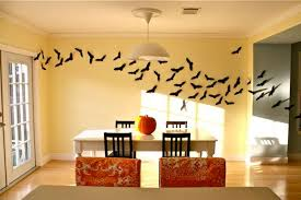 room wall ideas room wall decoration ideas makipera bats swarm wall decor ideas for ha