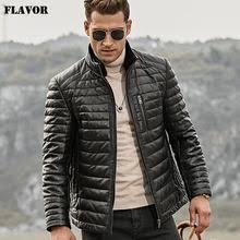 Выгодная цена на Sheep Leather <b>Down Jacket</b> Men ...