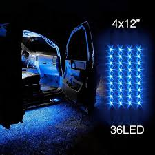 4pcs <b>36 LED</b> 6 COLORS AVAILABLE <b>Waterproof</b> Three Mode Neon ...