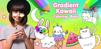 Gradient <b>Kawaii</b> Coloring Book - Apps on Google Play