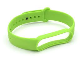 <b>Aксессуар Ремешок Innovation для</b> Mi Band 5 Silicone Green 17860