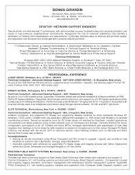 desktop support resume desktop support resume sample