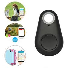 GPS Locator Keychain Pet Dog Tracker Mini <b>Smart Bluetooth Tracer</b> ...