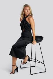 Black Tie Dress - Black – <b>Sanne</b> Alexandra