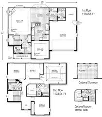 Story House Floor Plans  House Plan     Bedroom     Two Story House Floor Plans