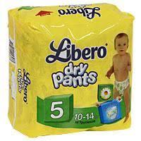 Отзывы о <b>Подгузники</b>-<b>трусики Libero Dry</b> Pants