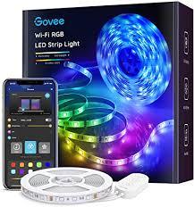 Govee Smart LED Strip Lights, 16.4ft WiFi LED Lights ... - Amazon.com