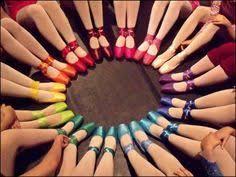 Resultado de imagen de puntas de ballet de colores